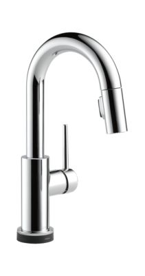 Trinsic Single Handle Pull-Down Bar/Prep Faucet Featuring Touch2O® Technology