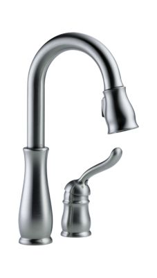 Leland Single Handle Pull-Down Bar/Prep Faucet