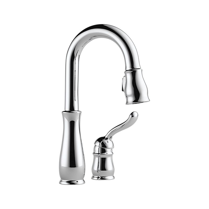 Delta Leland Arctic Stainless 1 Handle Pull Down Kitchen
