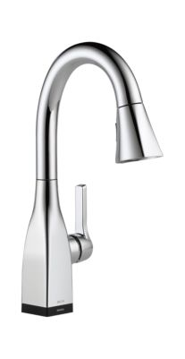 Mateo Single Handle Pull-Down Bar / Prep Faucet with Touch2O Technology