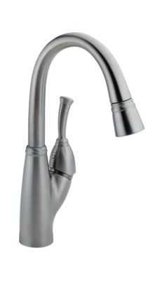 Allora™ Single Handle Pull-Down Bar/Prep Faucet