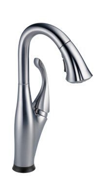 Single Handle Pull-Down Bar/Prep Faucet with Touch2O Technology