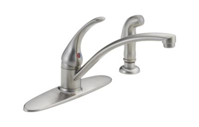 Foundations Single Handle Kitchen Faucet With Spray