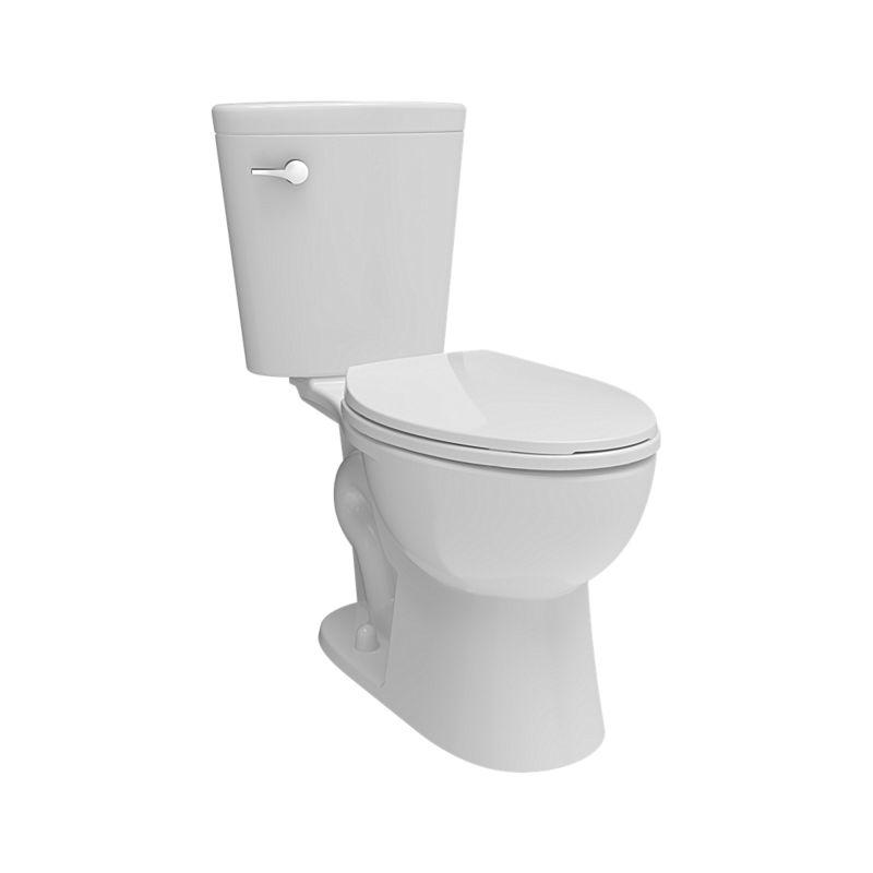 Elongated Water Saving Toilet, Corrente Watersense, Comfort Height ...