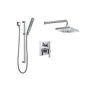 Delta Monitor 14 Series Contemporary Square Shower Kit
