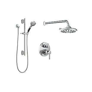 Delta Monitor 14 Series Contemporary Round Shower Kit