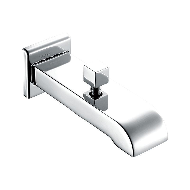and spouts tub spout polished dp diverter kits chrome standard faucet com amazon american