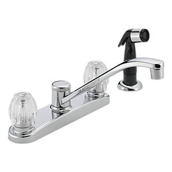 P225LF Two Handle Kitchen Faucet Product Documentation Customer Support P