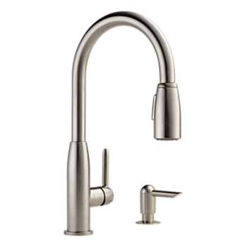 Kitchen Single Handle Pull Down