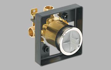 tub shower multichoice universal high flow shower rough universal inlets. Black Bedroom Furniture Sets. Home Design Ideas