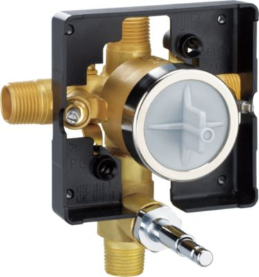 MultiChoice Universal Tub/Shower Rough Push Button Diverter