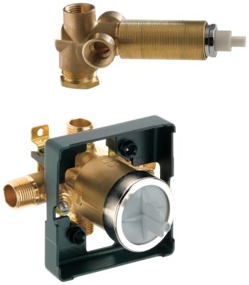 MultiChoice Universal Valve Body With In Wall Diverter Valve