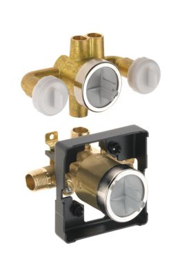 Victorian™ Jetted Shower™ Rough-In Valve with extra Outlet (6-Setting)