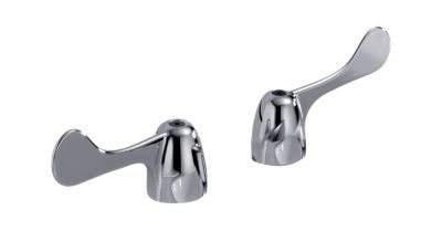 Delta Two Wrist Blade Handles with Screws