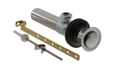 Delta Metal Lavatory Drain Assembly Less Lift-Rod