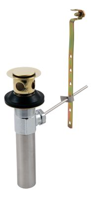 Lavatory Faucets Metal Drain Assembly Less Lift Rod