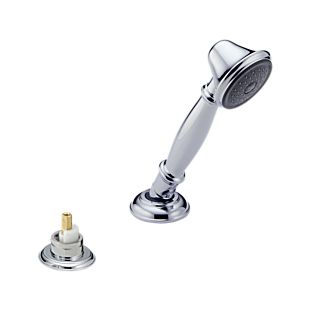 Delta Roman Tub Hand Shower with Transfer Valve - Less Handle