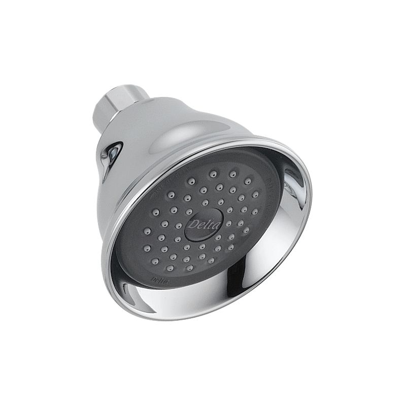 shower heads that connect to the faucet. Delta Fundamentals Single Setting Shower Head RP41589  Bath