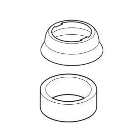 Delta Escutcheon and Gasket - Pull-Out Kitchen Faucet