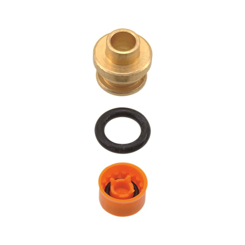 Rp51737 Delta Flow Restrictor Brass Insert 1 5 Gpm Repairparts Products Delta Faucet
