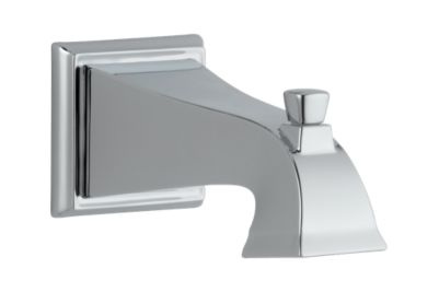 Dryden Tub Spout - Pull-Up Diverter