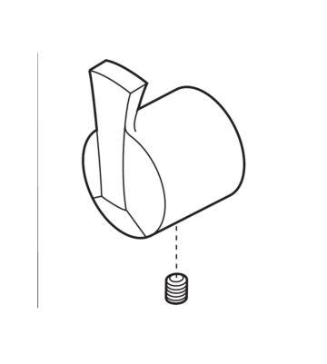 Delta Single Metal Lever Handle Kit - Diverter