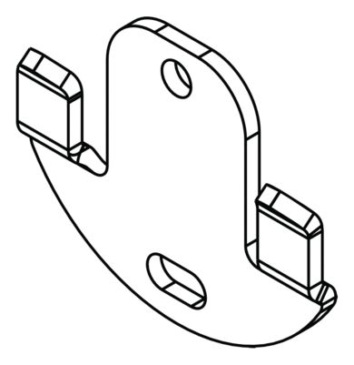 Delta Accessory Mounting Hardware