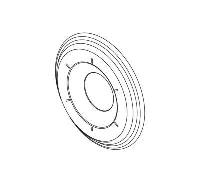Delta 6 Function Diverter Escutcheon