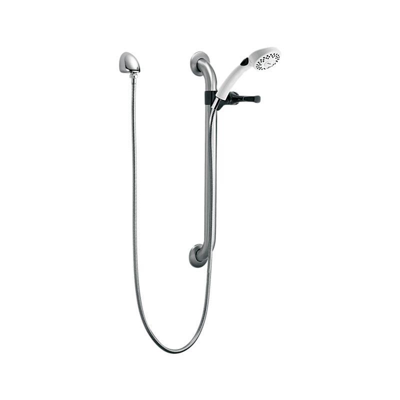 RPW324HDF Delta Single-Setting Hand Shower w/ Grab Bar & Elbow ...