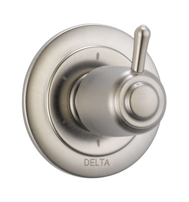 T11900 Ss Delta 6 Setting 3 Port Diverter Trim Bath