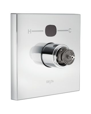 Delta Angular Modern Temp2O Valve Only - Less Handles