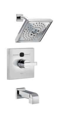 Ara Angular Modern 14 Series Temp2O Tub and Shower Trim