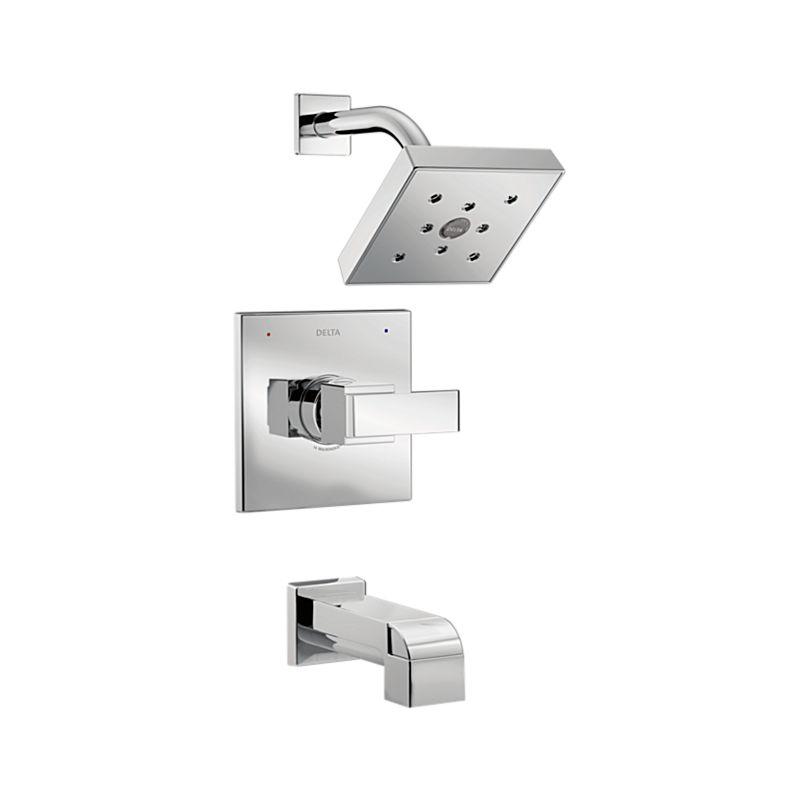 T14467 Ara Monitor 14 Series H2Okinetic Tub & Shower Trim : Bath ...