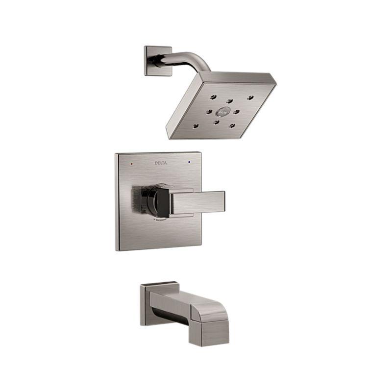 T14467-SS Ara Monitor 14 Series H2Okinetic Tub & Shower Trim : Bath ...