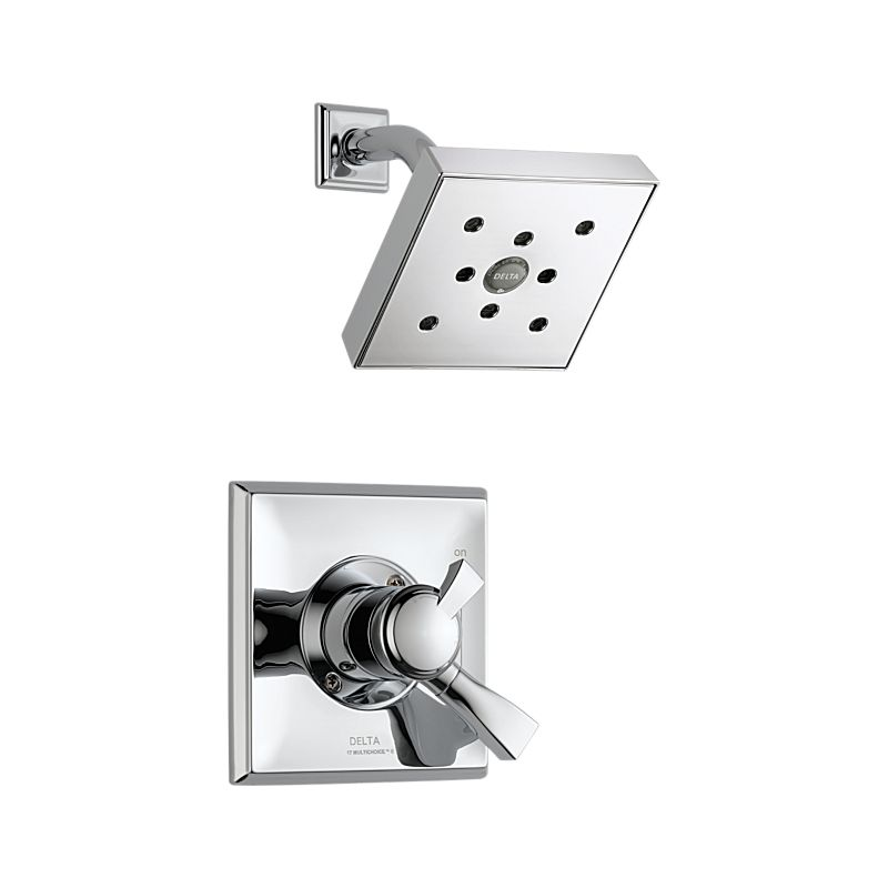 T17251-H2O Dryden™ Monitor 17 Series H2Okinetic Shower Trim : Bath ...