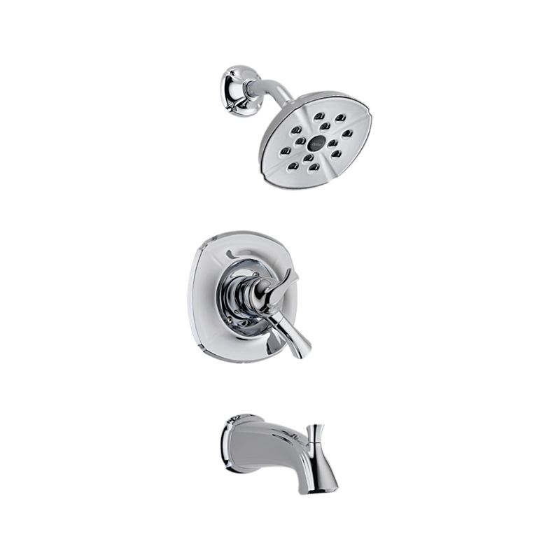T17492 Addison Monitor 17 Series Shower Head and Tub and Shower Trim ...