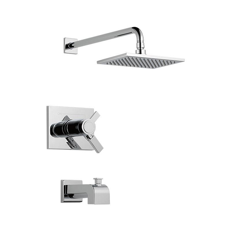 T17T453 Vero™ TempAssure 17T Series Tub & Shower Trim : Bath ...
