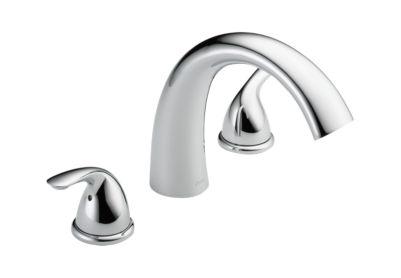 T2705 Classic Roman Tub Trim Bath Products Delta Faucet
