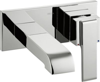 Arzo Single Handle Wall Mount Lavatory Faucet Trim