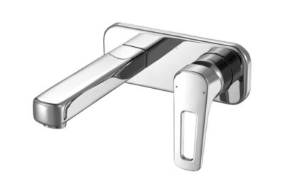 Ixa Flex Single Handle Wall Mount Bathroom Faucet Trim