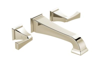Dryden Two Handle Wall Mount Bathroom Faucet Trim