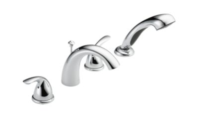 T4705 Classic Roman Tub With Hand Shower Trim Bath Products