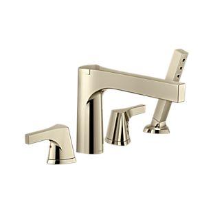 Zura Roman Tub with Hand Shower Trim