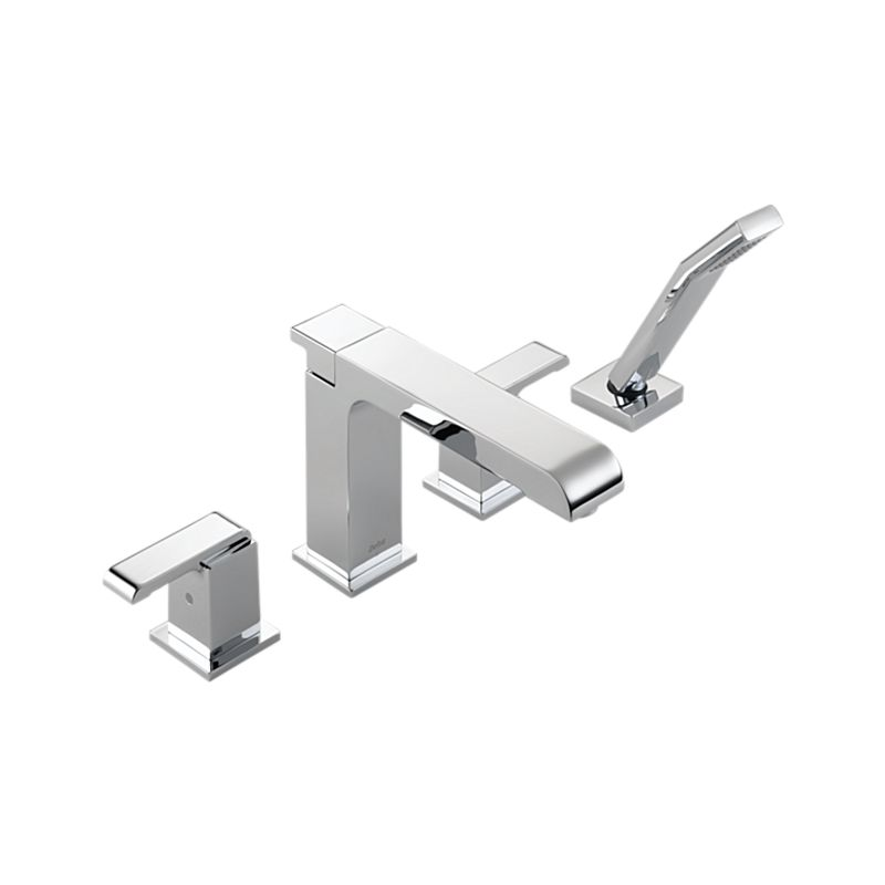 T4786 Arzo® Roman Tub Trim with Hand Shower : Bath Products : Delta ...
