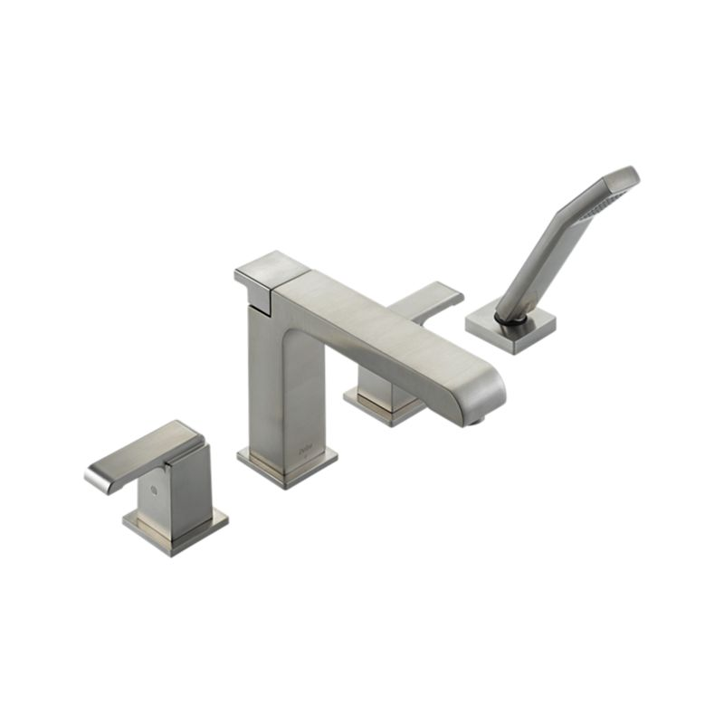 T4786-SS Arzo® Roman Tub Trim with Hand Shower : Bath Products ...