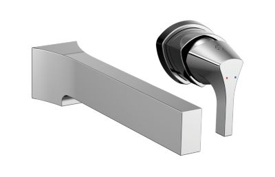 Zura Single Handle Wall Mount Lavatory Faucet Trim