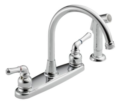 was01x two handle kitchen faucet product documentation
