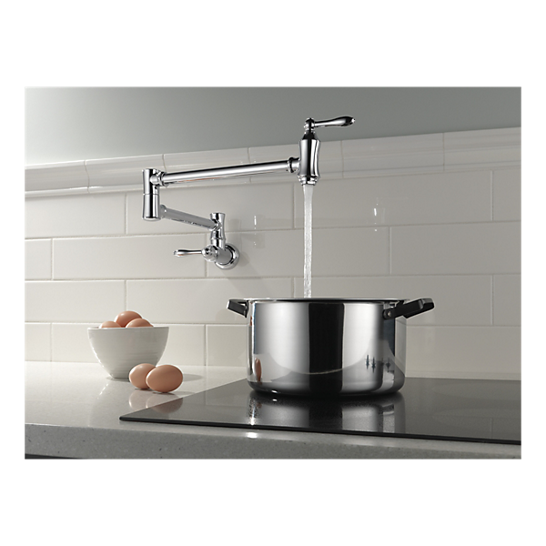 Wall Mount Pot Filler Kitchen Faucet Canada