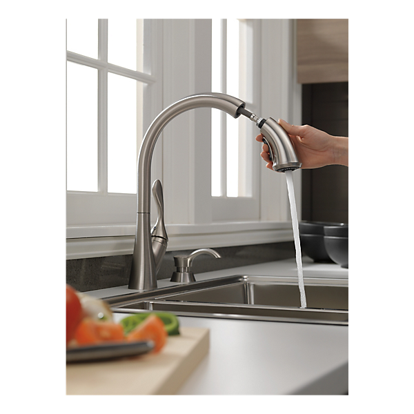19922 sssd dst single handle pull down kitchen faucet