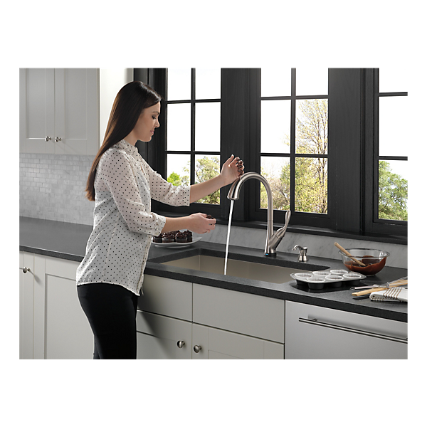 19922t sssd dst single handle pull down kitchen faucet
